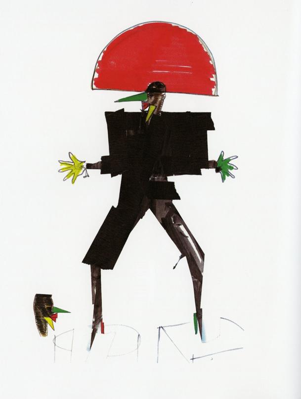 Libertango costume designs 2 1981