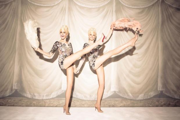 Anne Vyalitsyna & Irina Shayk by Ellen von Unwerth (Sister Act - Vs. Spring-Summer 2013) 10