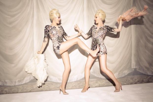Anne Vyalitsyna & Irina Shayk by Ellen von Unwerth (Sister Act - Vs. Spring-Summer 2013) 11