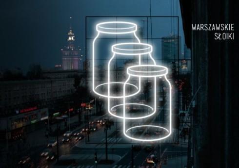 Warszawskie słoiki. Autorzy: Designlab - Magdalena Czapiewska, Karol Murlak