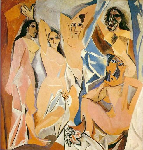Pablo Picasso - Panny z Awinionu