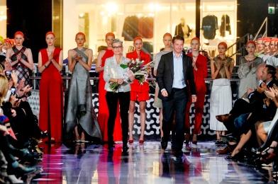 Pokaz Joanny Klimas Wiosna/Lato 2014 foto: Jacek Kurnikowski/AKPA