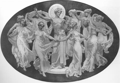 apollo-and-the-muses-1921