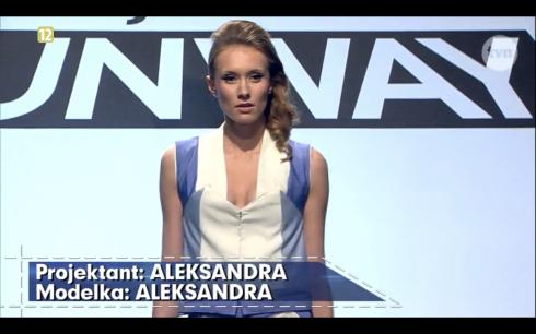 Project Runway Polska Odcinek 4 Aleksandra 1