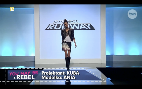 Project Runway odcinek 8 Kuba 1 Freestyle Voguing