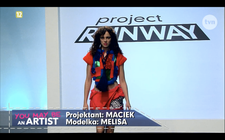 Project Runway odcinek 8 Maciek 1 Freestyle Voguing