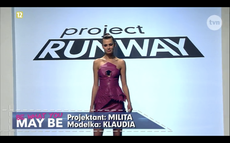 Project Runway odcinek 8 Milita 1 Freestyle Voguing