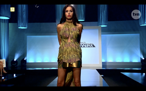 Project Runway odcinek 8 Natalia 2 Freestyle Voguing