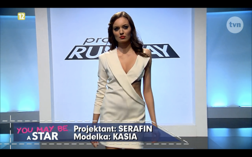 Project Runway odcinek 8 Serafin 1 Freestyle Voguing