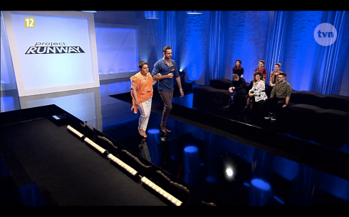 Project Runway Odcinek 9 Piotr i Natalia 2 Freestyle Voguing
