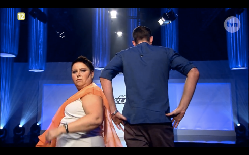 Project Runway Odcinek 9 Piotr i Natalia 3 Freestyle Voguing