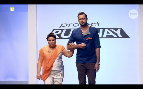 Project Runway Odcinek 9 Piotr i Natalia Freestyle Voguing