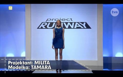 Project Runway Polska odcinek 6 Milita 1 Freestyle Voguing