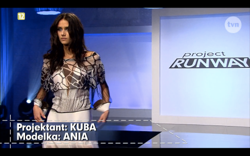 Project Runway Odcinek 10 Kuba 1 Freestyle Voguing