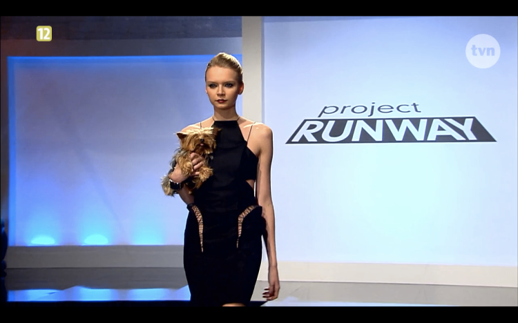 Project Runway Odcinek 11 Liliana 1 Freestyle Voguing