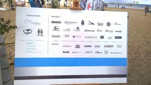 Dumna lista partnerów i patronów, niekoniecznie aktualna / Zdjęcie: Freestyle Voguing