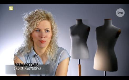 Agata Mickiewicz Project Runway Bez Majtek - Freestyle Voguing