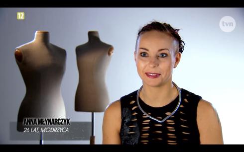 Anna Młynarczyk Project Runway Bez Majtek - Freestyle Voguing