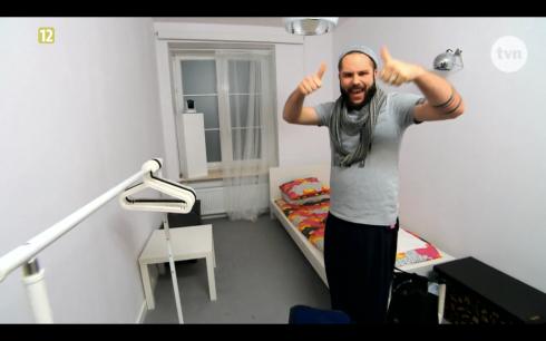 Piotr Prychała Project Runway Bez Majtek - Freestyle Voguing - kamera