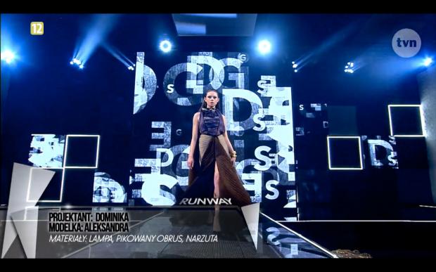 Project Runway Bez Majtek - Freestyle Voguing Wojna i Moda Dominika Syczyńska 1