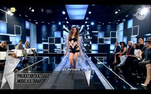 Sara Betkier Project Runway Bez Majtek S02E04 Wybieg 3