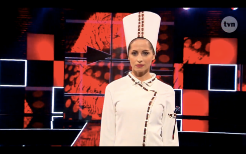 Sylwia Kozubska Project Runway Bez Majtek S02E06 Wybieg 1
