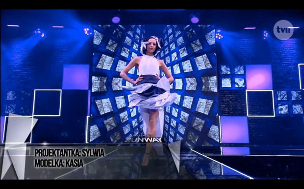 Sylwia Kozubska Project Runway Bez Majtek S02E07 Wybieg