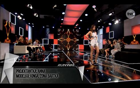 Anna Młynarczyk Project Runway Bez Majtek S02E09 Wybieg 2