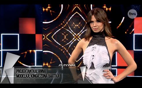 Anna Młynarczyk Project Runway Bez Majtek S02E09 Wybieg 3